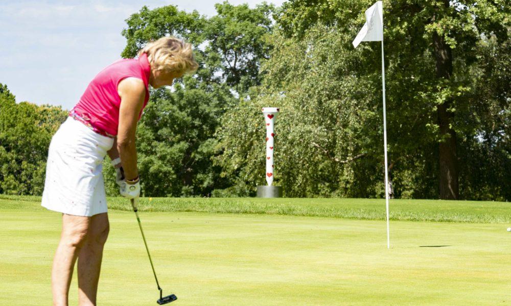 Trophée de la Parisienne, femmes, golf, Golf de Saint-Cloud, golfeuse, putting, parcours