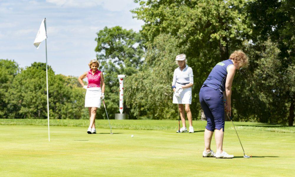 Trophée de la Parisienne, femmes, golf, Golf de Saint-Cloud, golfeuse, putting, parcours, équipe