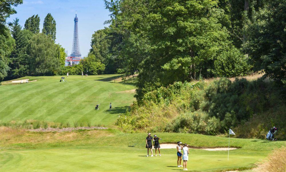 Trophée de la Parisienne, femmes, golf, Golf de Saint-Cloud, golfeuse, approche, parcours, Paris, jeu