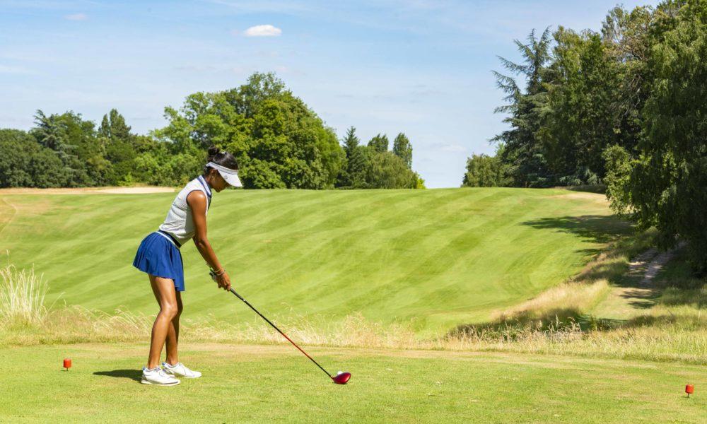 Trophée de la Parisienne, femmes, golf, Golf de Saint-Cloud, golfeuse, drive, driver, parcours, jeu