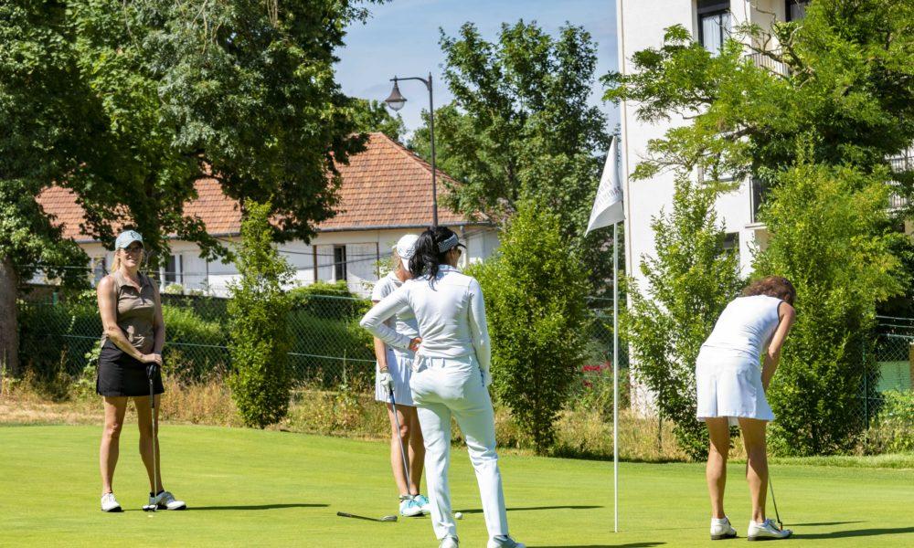 Trophée de la Parisienne, golf, Golf de Saint-Cloud, femmes, golfeuse, putting, putter, parcours, jeu