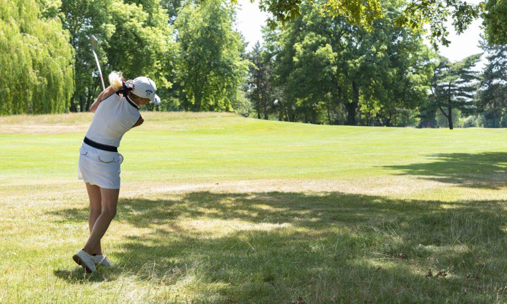Trophée de la Parisienne, femmes, Golf, Swing, Golf de Saint-Cloud, golfeuse