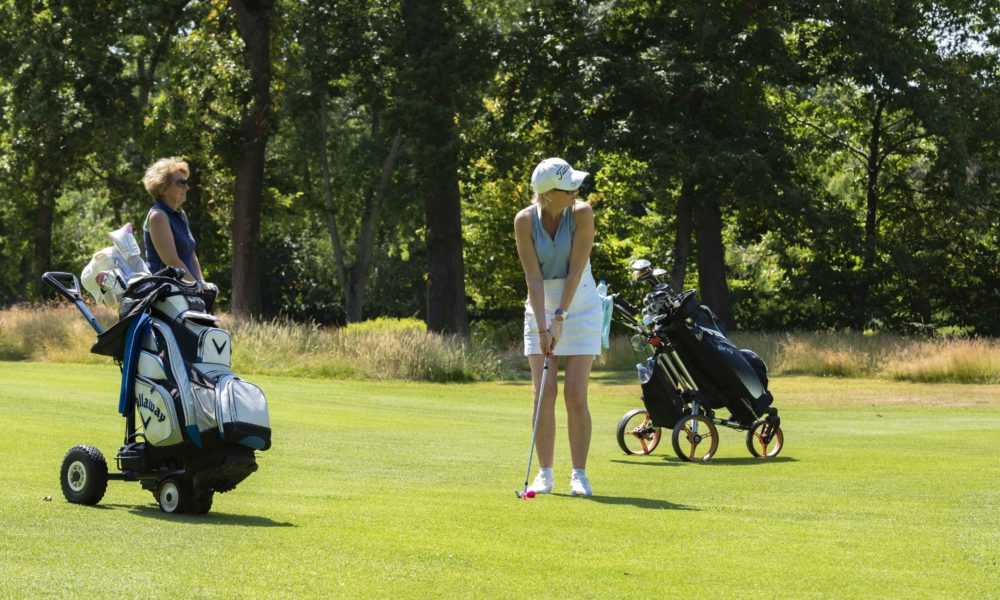 Trophée de la Parisienne, femmes, golf, Golf de Saint-Cloud, golfeuse, approche, parcours