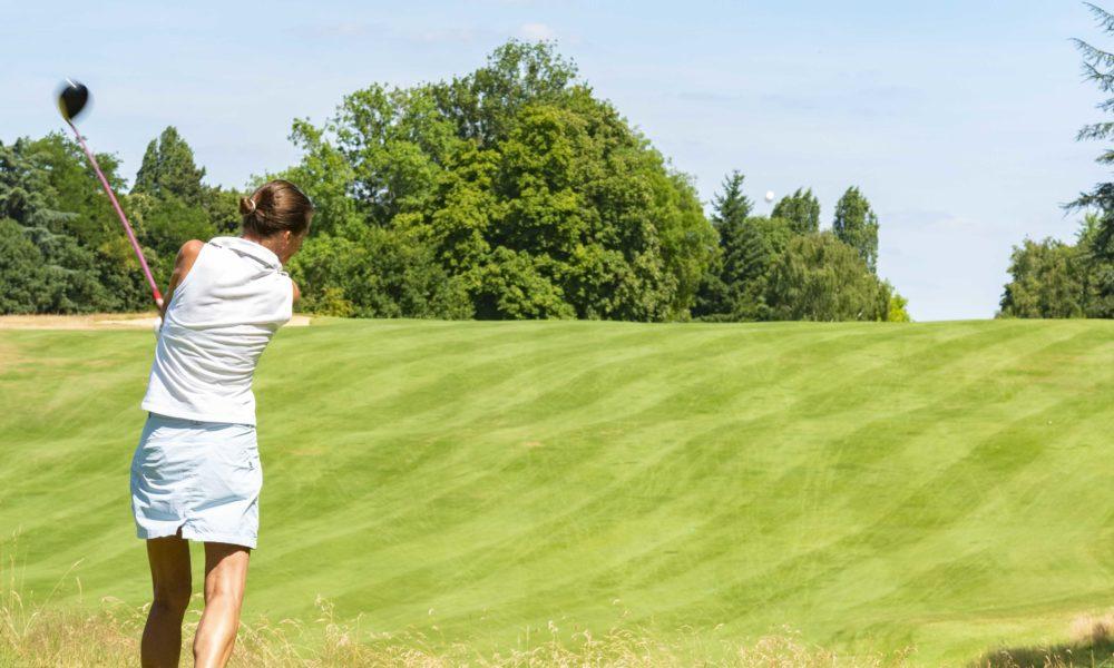 Trophée de la Parisienne, femmes, golf, Golf de Saint-Cloud, golfeuse, drive, parcours, Paris, jeu, balle
