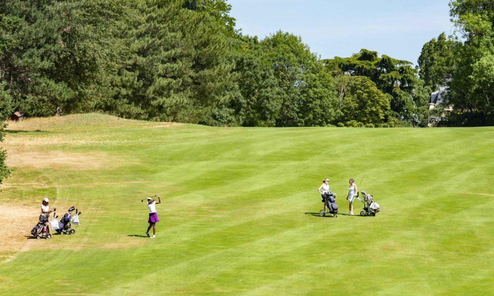Trophée de la Parisienne, femmes, golf, Golf de Saint-Cloud, golfeuse, approche, coup, parcours, jeu