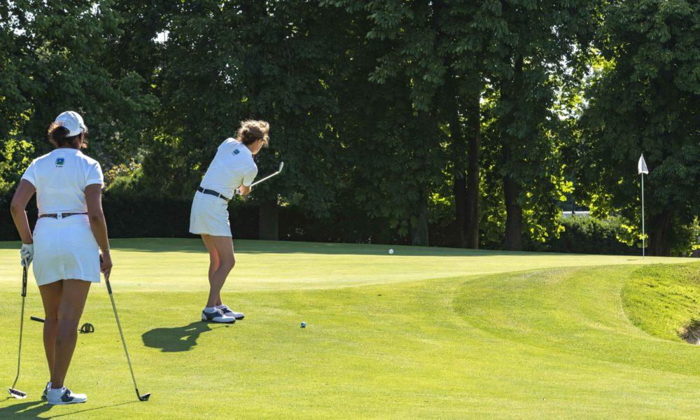 Trophée de la Parisienne, femmes, golf, Golf de Saint-Cloud, golfeuse, approche, parcours, jeu, coup, trou