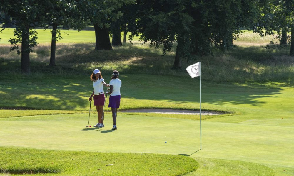 Trophée de la Parisienne, femmes, golf, Golf de Saint-Cloud, golfeuse, putting, putter, parcours, jeu, coup, trou